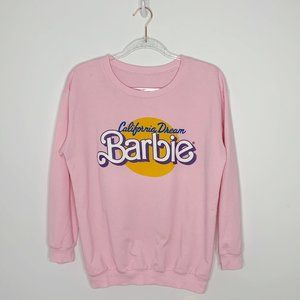 Barbie California dreams retro crewneck sweatshirt